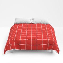 Cherry Grid Comforters