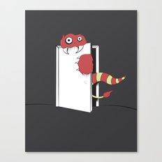 Closet Monster Canvas Print