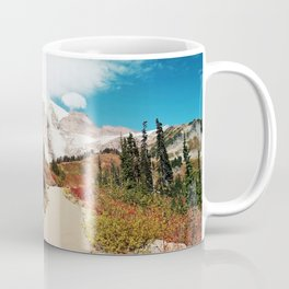 Mt Rainier in Autumn Coffee Mug