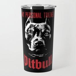 Pitbull My Personal Trainer Travel Mug