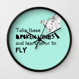 Learn how to fly Wall Clock