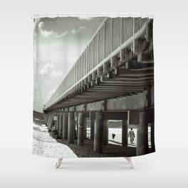 Gold Coast Pier Shower Curtain