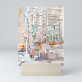 Reflection in the New York City windows II Mini Art Print