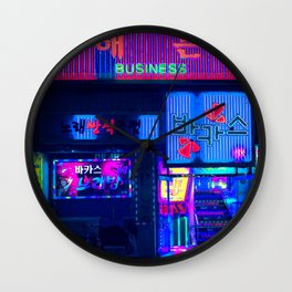 Business Clubs & Nore-bangs Wall Clock