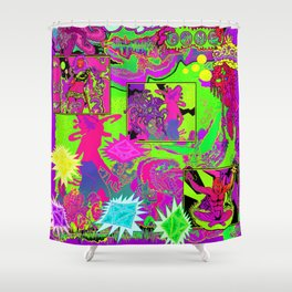 Other Worlds: The Game Shower Curtain