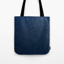 Dark Blue Fleecy Material Texture Tote Bag