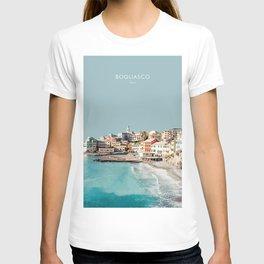 Bogliasco, Italy Travel Artwork T-shirt