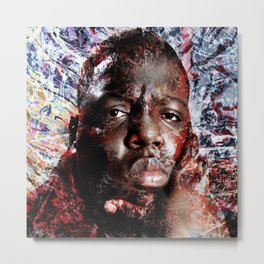 BIGGIE TRIBUTE Metal Print