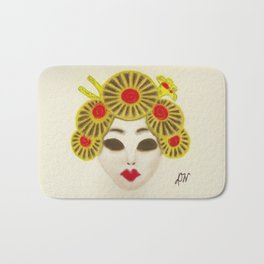 Japanese Female Mask Bath Mat
