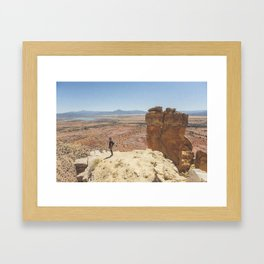Chimney Rock Framed Art Print