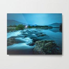 tranquil waterfall Metal Print