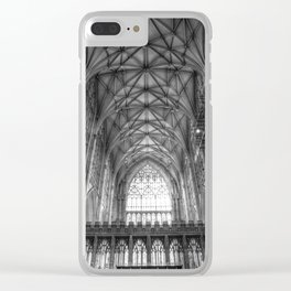 York Minster Cathedral Clear iPhone Case