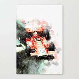 Jo Siffert Canvas Print