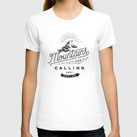 mountains T-shirts featuring Mountains by Seaside Spirit