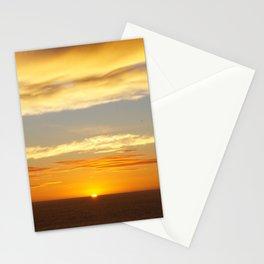 Muriwai sunset Stationery Cards
