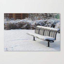 Lovely Snowfall Canvas Print