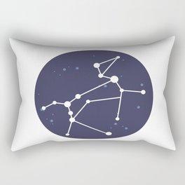 Canis Major Constellation Rectangular Pillow