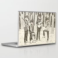 band Laptop & iPad Skins featuring The Band by yellow pony