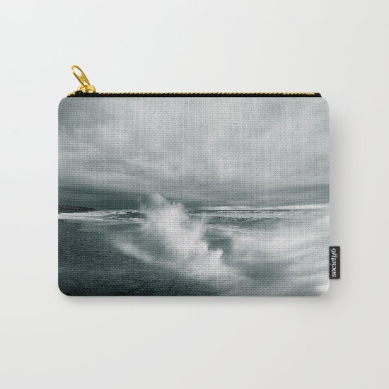 sea waves water Carry-All Pouch