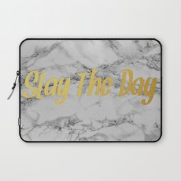 Slay The Day Laptop Sleeve