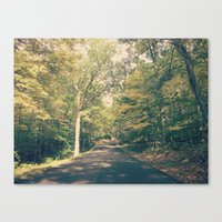 onward Canvas Prints featuring Onward by Oh, Good Gracious!