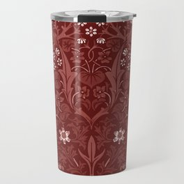 "William Morris ""Blackthorn"" 8. Travel Mug"