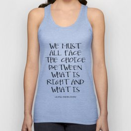 PRINTABLE ART Albus Dumbledore Quote We Must All Face The Choice Childrens Room Decor Kids Wall Art Unisex Tank Top