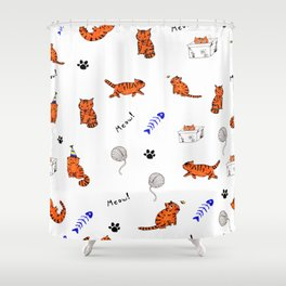Pawtastic Shower Curtain