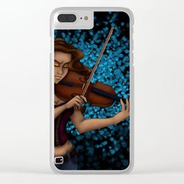 Passionate Music Clear iPhone Case