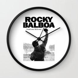 rocky balboa Wall Clock