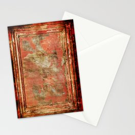 Red Panel Stationery Cards