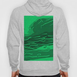 abstract style aurora borealis absmagi Hoody
