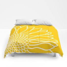 Sunflower Cheerfulness Comforters