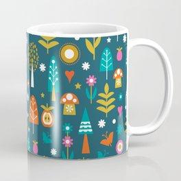 Summer Forest Pattern Coffee Mug