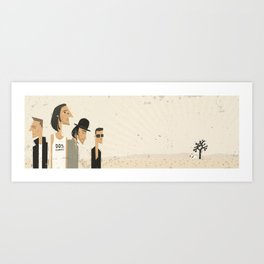 In Dog's Country Art Print