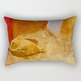 intermediate world - autumn Rectangular Pillow