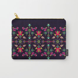 Folk Birds and Flowers Carry-All Pouch