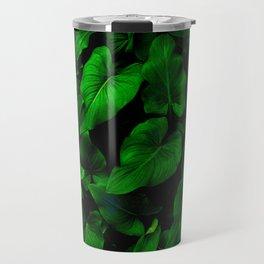 Arum Lilly Leaves II Travel Mug
