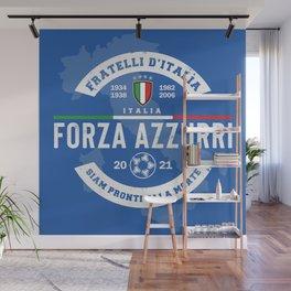 Forza Azzurri (Italia is back!) Wall Mural