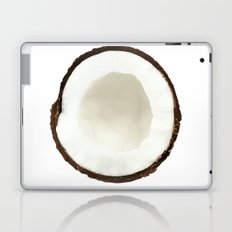 White coconut Laptop & iPad Skin
