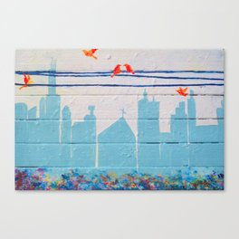 City Unity Canvas Print