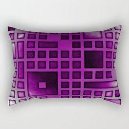 Asexual Pride Rectangular Cutouts Design Rectangular Pillow
