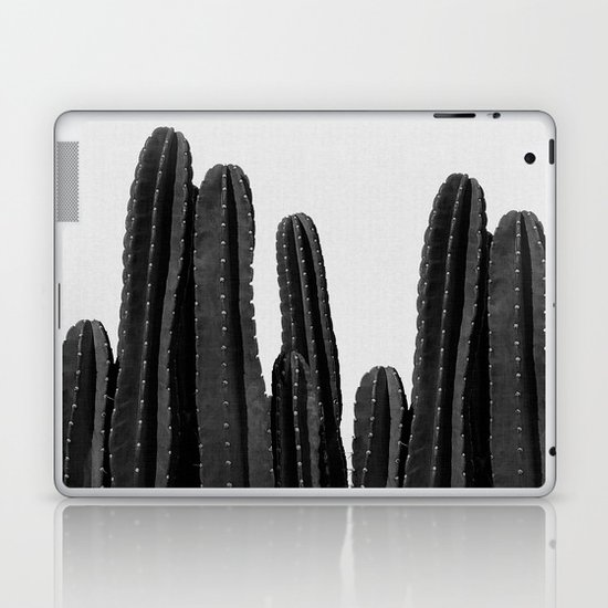 Cactus Black & White by paperpixelprints