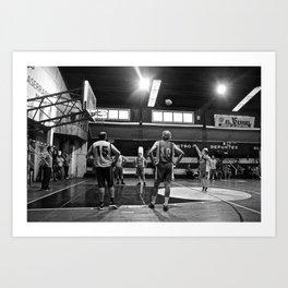 Basketball Chile Art Print