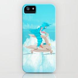 bunny girl Flight Time iPhone Case