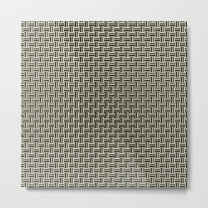 Tight Weave in CMR 03 Metal Print