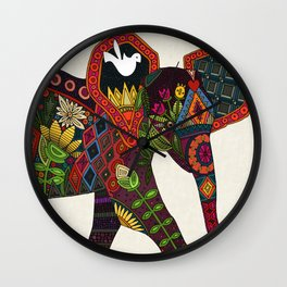 little elephant Wall Clock