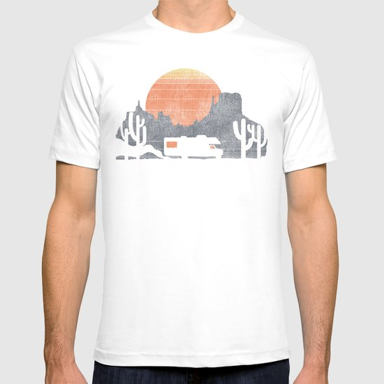 Trail of the dusty road T-shirt