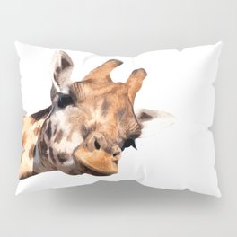 Giraffe portrait Pillow Sham
