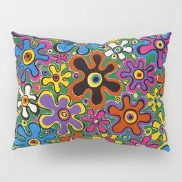 Floral Spin by Nettwork2Design - nettie heron-middleton Pillow Sham